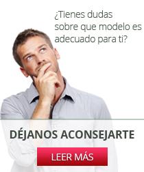 ¿Tienes dudas sobre el modelo que necesitas?